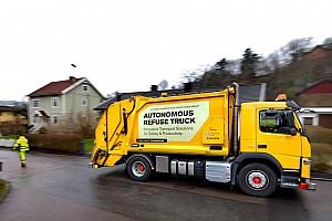 Auto Actualités Volvo teste un camion-poubelle autonome