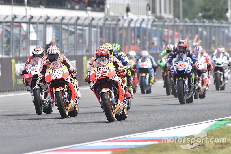 【MotoGPチェコ】決勝:マルケス好判断! 2周目のマシン乗り換えで連勝
