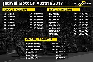 MotoGP Preview Jadwal lengkap MotoGP Austria 2017