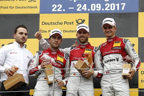 DTM DTM у Шпільберзі: тріо Audi на подіумі