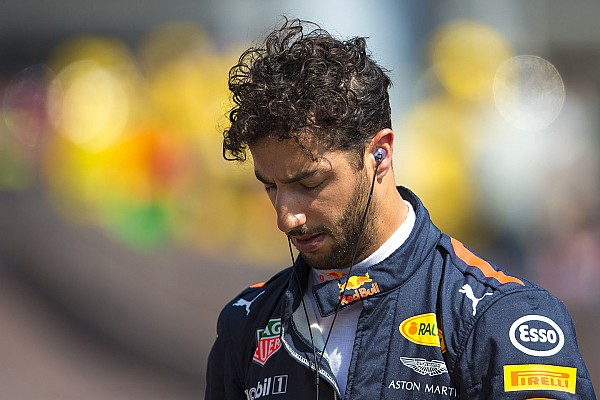 """Formule 1 Nieuws Ricciardo gefrustreerd: """"We hebben een domme, gekke fout gemaakt"""""""
