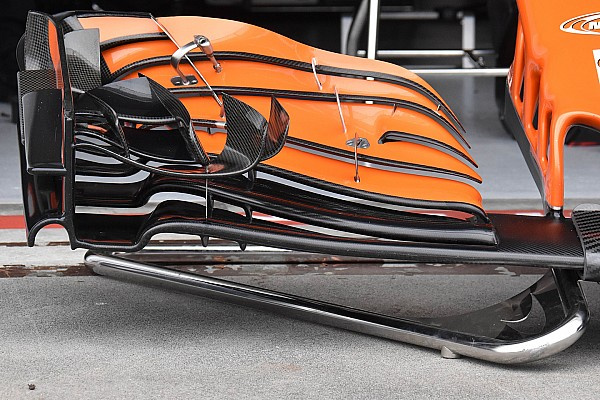 F1 Técnica: El nuevo alerón delantero del McLaren que estrenó Alonso