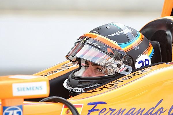 Video live: Alonso torna in pista per le libere del lunedì della Indy 500