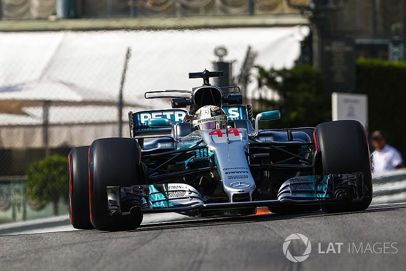 摩纳哥大奖赛FP1:汉密尔顿最快,并创下历史最快单圈时间