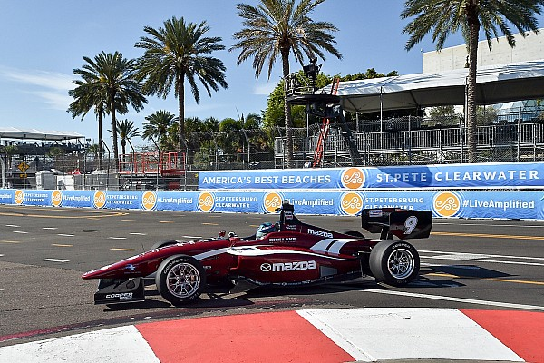 Indy Lights Reporte de la carrera Telitz gana la apertura temporada de Indy Lights