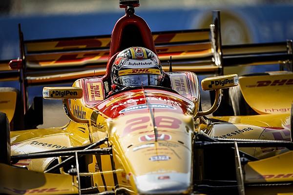 IndyCar IndyCar St Petersburg: Dixon snelste in warm-up, Hunter-Reay crasht flink