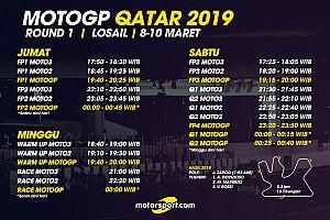 Jadwal lengkap MotoGP Qatar 2019