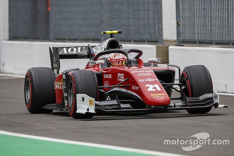 Pembalap junior Ferrari batal raih pole sprint race F2 Monza