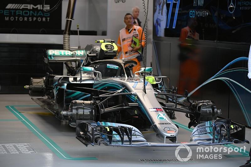Технический анализ: новинка Mercedes, сыгравшая ключевую роль в Сингапуре