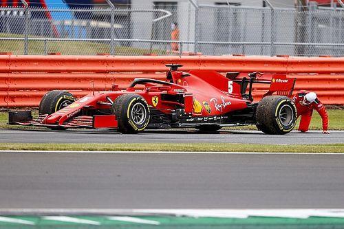 Ferrari busca respuestas al extraño viernes en Silverstone