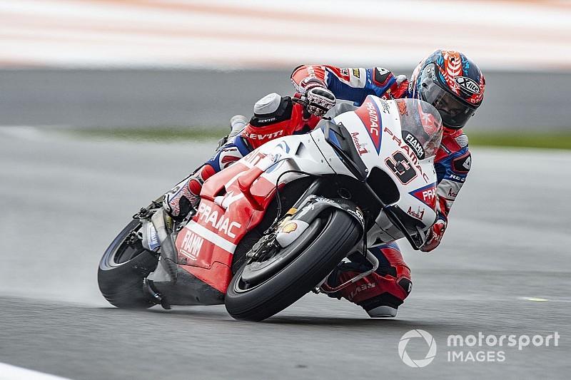 Valencia Motogp Petrucci Tops Fp3 Yamahas To Q1