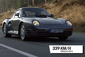 Porsche shows on video its five fastest street cars ever made