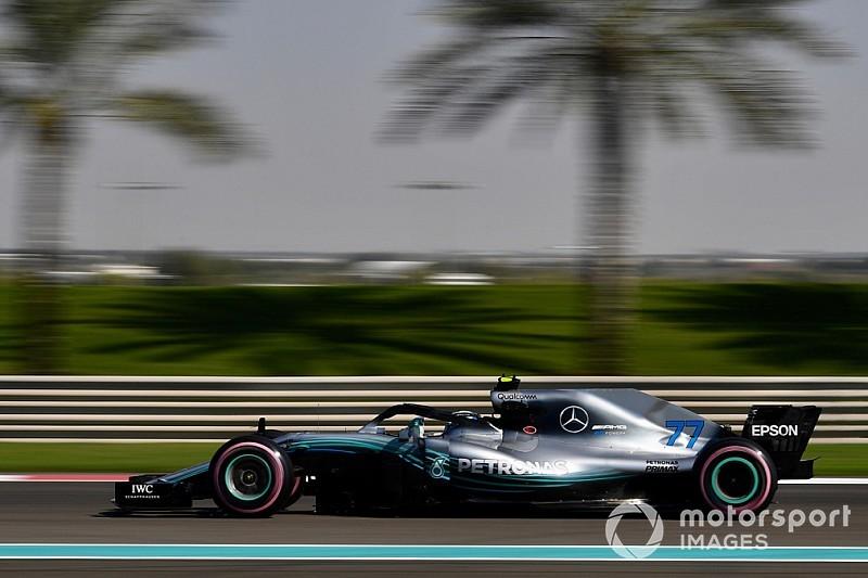 F1, Abu Dhabi, Libere 2: Bottas davanti, gli altri sono tutti molto vicini