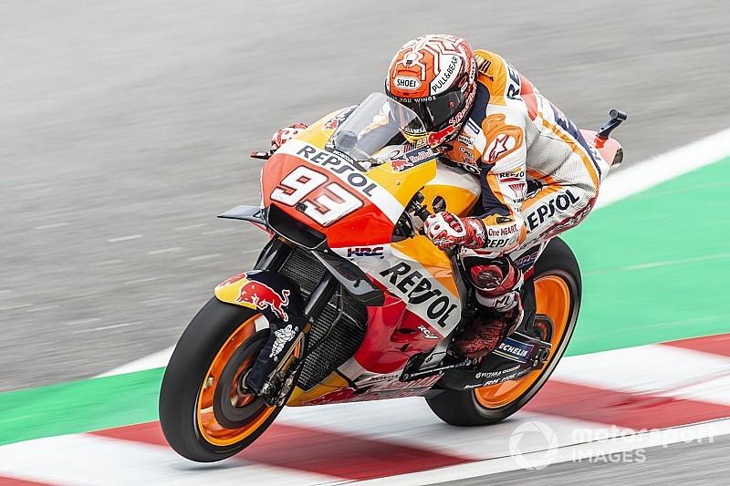 FP4 MotoGP Malaysia: Kondisi trek berubah, Marquez tetap terkencang