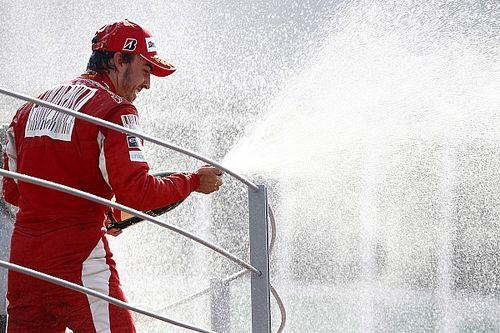 Alonso recuerda cómo fue ganar con Ferrari en Monza (11 años después)