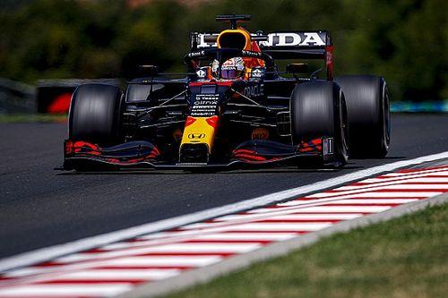 F1ハンガリーFP1:フェルスタッペンが好発進のトップタイム、アルファタウリ角田はクラッシュ