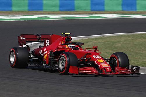 Sainz forced to take third Ferrari F1 power unit for Hungarian GP