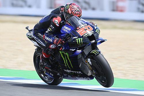 Quartararo nyerte a jerezi időmérőt, Rossi és Marquez már a Q1-ből sem jutott tovább
