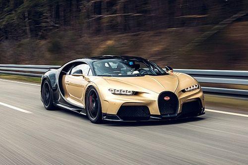 La Bugatti Chiron Super Sport testata a 440 km/h con 100 sensori
