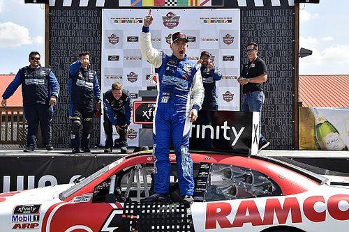Allmendinger fights back from penalty, wins Mid-Ohio Xfinity race