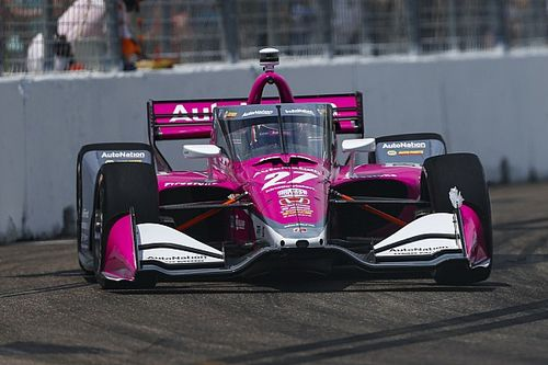 IndyCar GP Indy: Rossi leads Harvey in opening practice