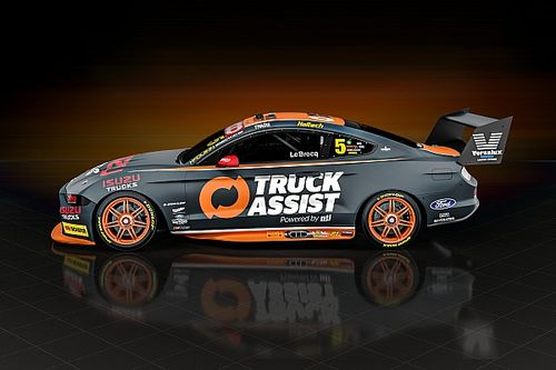 Le Brocq's Tickford Mustang unveiled