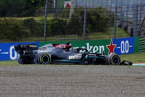 Explained: Why Hamilton didn't break F1's rules for reversing on track