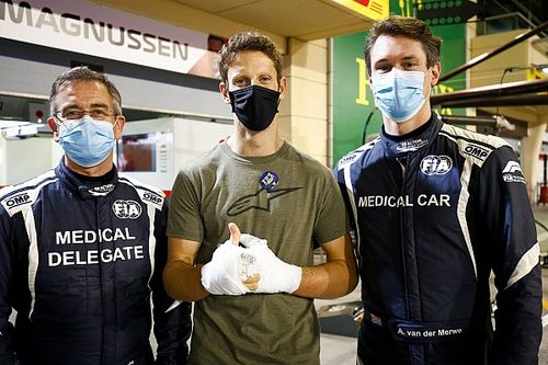 Grosjean o ucieczce z płonącego samochodu