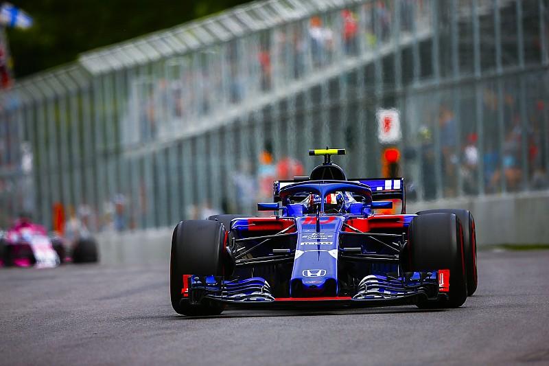 Гаслі: Новий двигун Honda допоміг у Канаді відіграти три позиції