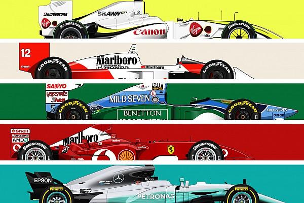 Galeria: os carros mais vitoriosos da história da F1