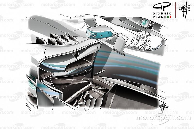 Technique - Les modifications qui ont aidé Mercedes à Monaco