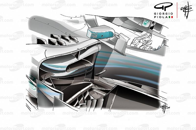 Los cambios que ayudaron a Mercedes en Mónaco