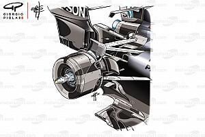 Fórmula 1 Análisis Análisis Técnico: los beneficios de la suspensión trasera del Mercedes W09