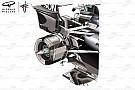Technique - Les avantages de la suspension arrière de la Mercedes W09