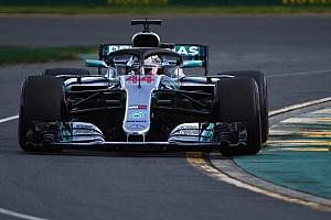 Formule 1 Actualités Hamilton a déjà dû gérer son usure moteur à Melbourne