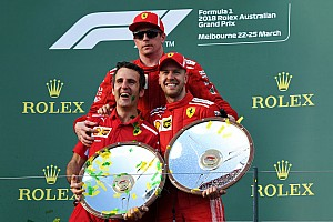 Fórmula 1 Noticias El presidente de Ferrari celebra:
