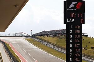 Формула 1 Livefeed Текстова трансляція гонки Гран Прі США