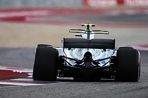 Formule 1 Diaporama Bilan technique - Les évolutions de la Mercedes W08