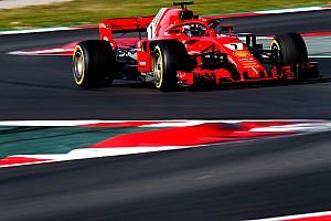 Формула 1 Отчет о тестах Райкконен остался лидером в последний день тестов Формулы 1
