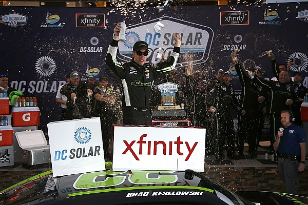 Brad Keselowski wins NASCAR Xfinity Series race at Phoenix