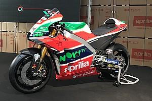 Aprilia onthult MotoGP-kleurenschema voor 2018