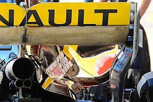 Formule 1 Actualités Renault tutoie la limite avec son aileron arrière soufflé