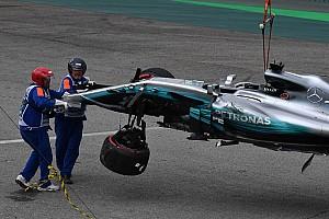Formel 1 News Unfall im Qualifying: Lewis Hamilton scheidet in Q1 aus