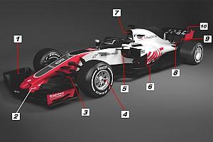 Formula 1 Özel Haber Teknik analiz: Haas VF-18