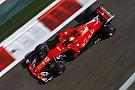 Формула 1 Феттель показал лучшее время в первой тренировке в Абу-Даби