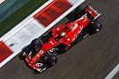 Vettel az élre repítette a Ferrarit Abu Dhabiban Hamilton és Verstappen előtt