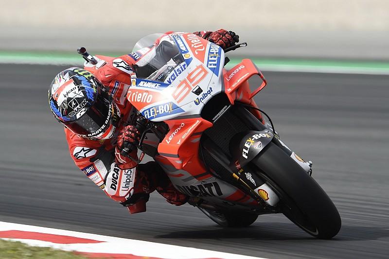 MotoGP Barcelona: Lorenzo-Bestzeit, Rossi im FP2 nur Elfter