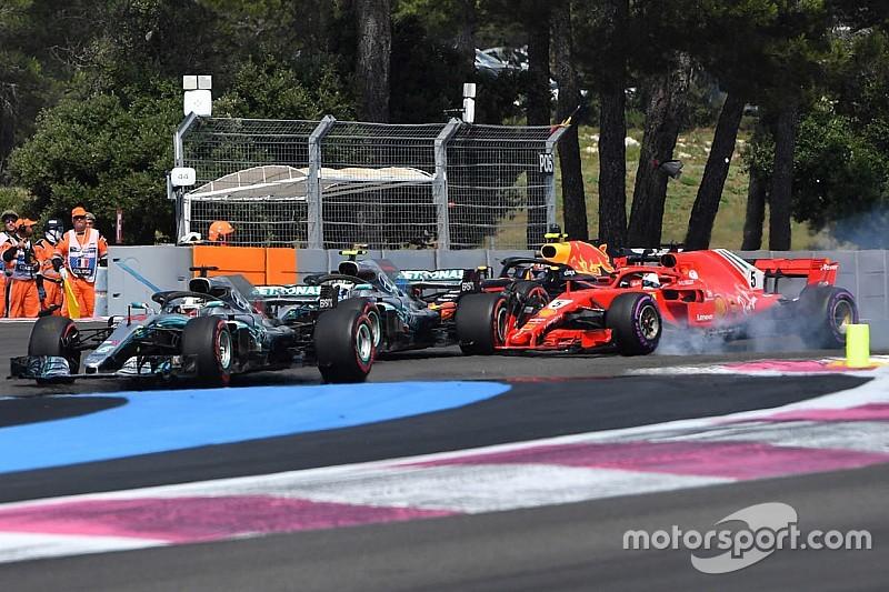 Hamilton critica el manejo de Vettel tras lo sucedido en Francia
