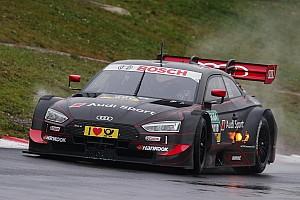 DTM News Rast: Erschwerte Bedingungen bei erstem Test mit neuem Audi