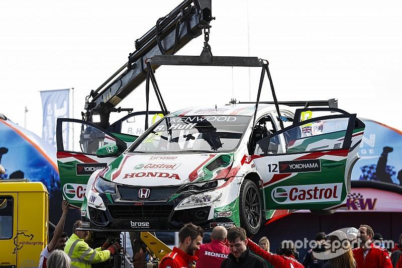 Huff partirà dal fondo nella Opening Race per sostituzione del motore